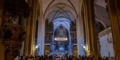 Die Hamburger Ratsmusik & Dorothee Mields im Dom St. Peter & Paul in Zeitz am 12.10.2018